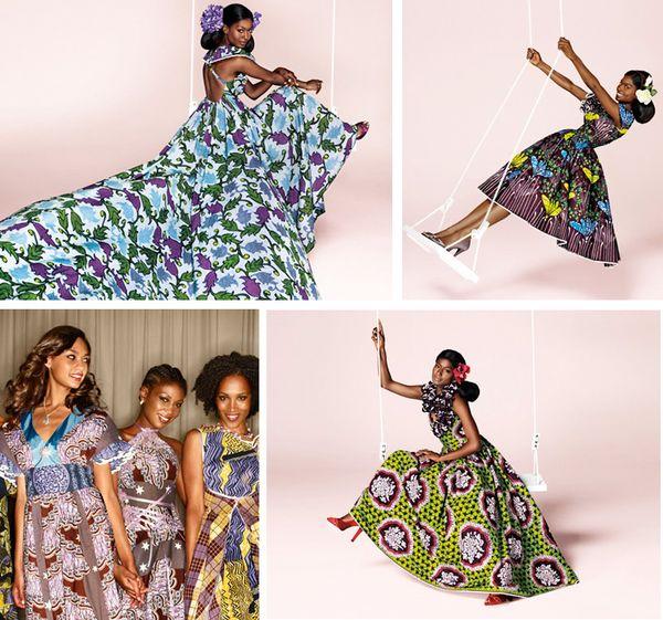 Lotushaus Vlisco African Wax Print Fabrics