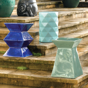 LotusHaus: Modern Garden Stools