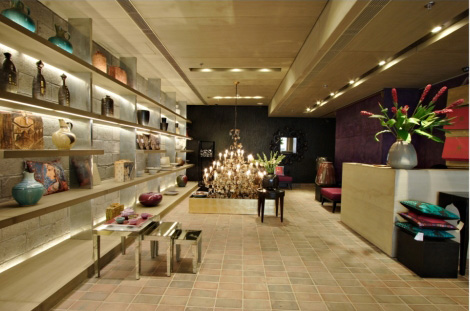 lotushaus good earth retail store in new delhi. Black Bedroom Furniture Sets. Home Design Ideas