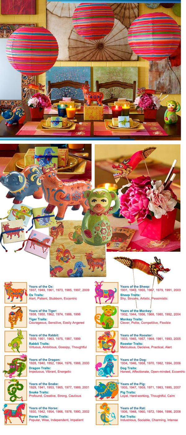 Lotushaus chinese new year party ideas from pier 1 year - Chinese new year party ideas ...