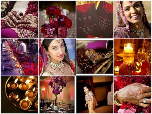 Purple and Red wedding photo 1261562-4