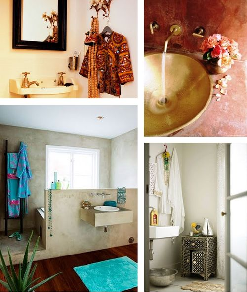 Indian bath inspiration