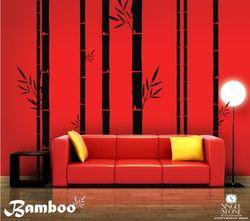 Wall decal_bamboo_singlestonestudio_etsy