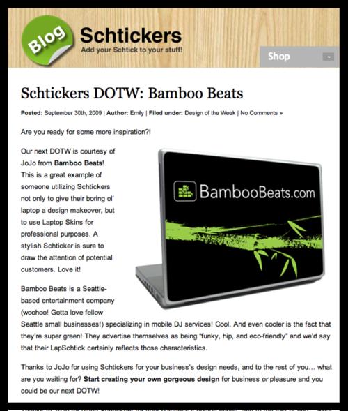 Schtickers_DOTW