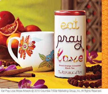 Eat pray love tea
