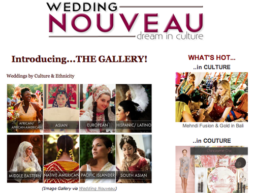 wedding nouveau image gallery
