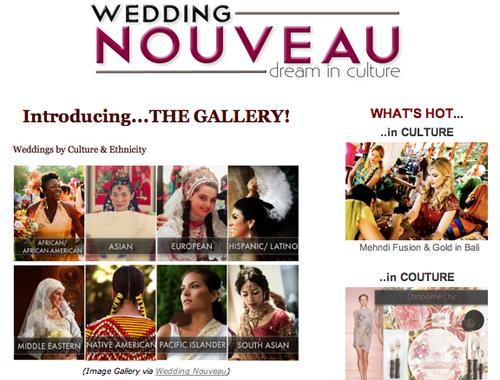 wedding nouveau image gallery