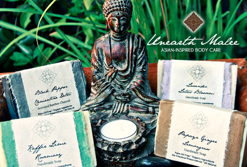 Asian inspired soap_unearth malee