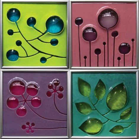 Home Decor Accessories on Peep These Super Funky Glass Panels By Etsy Seller Starfire Studios